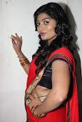 Sowmya glamorous half saree photos-thumbnail-17