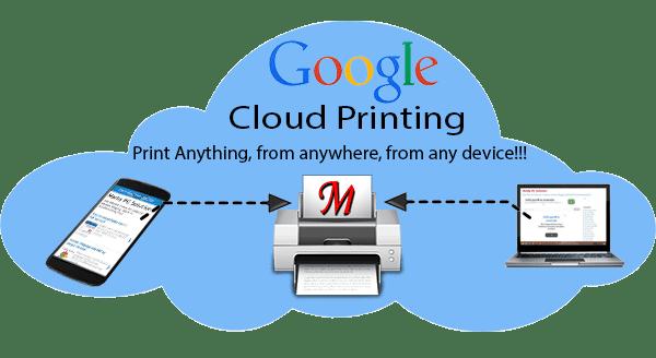 Google Remote Printing