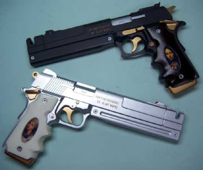 Ebony and Ivory Pistols, Devil may cry 4 mods