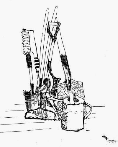sketch of tools