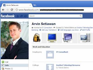 Profil Facebook yang baik dalam lamaran kerja