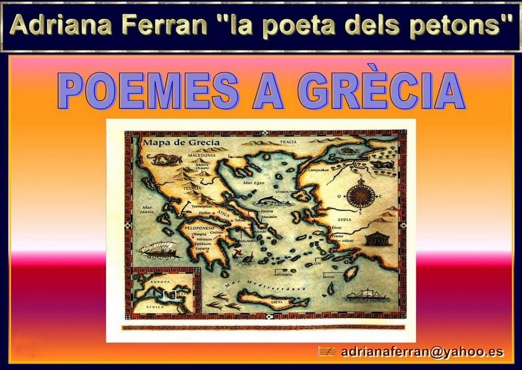 """Adriana Ferran """"Poemes a Grècia"""""""
