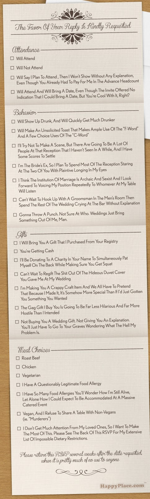 http://www.happyplace.com/16704/the-most-comprehensively-honest-wedding-rsvp-in-the-history-of-marriage