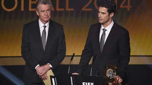 FIFA Ballon d'Or 2014 with Cristiano Ronaldo Winner