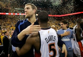 baron davis, warriors, mavs, dirk, 2007