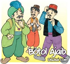 Cerita Abu Nawas : Botol Ajaib