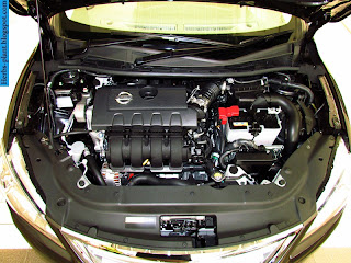 Nissan sylphy car 2013 engine - صور محرك سيارة نيسان سيلفى 2013