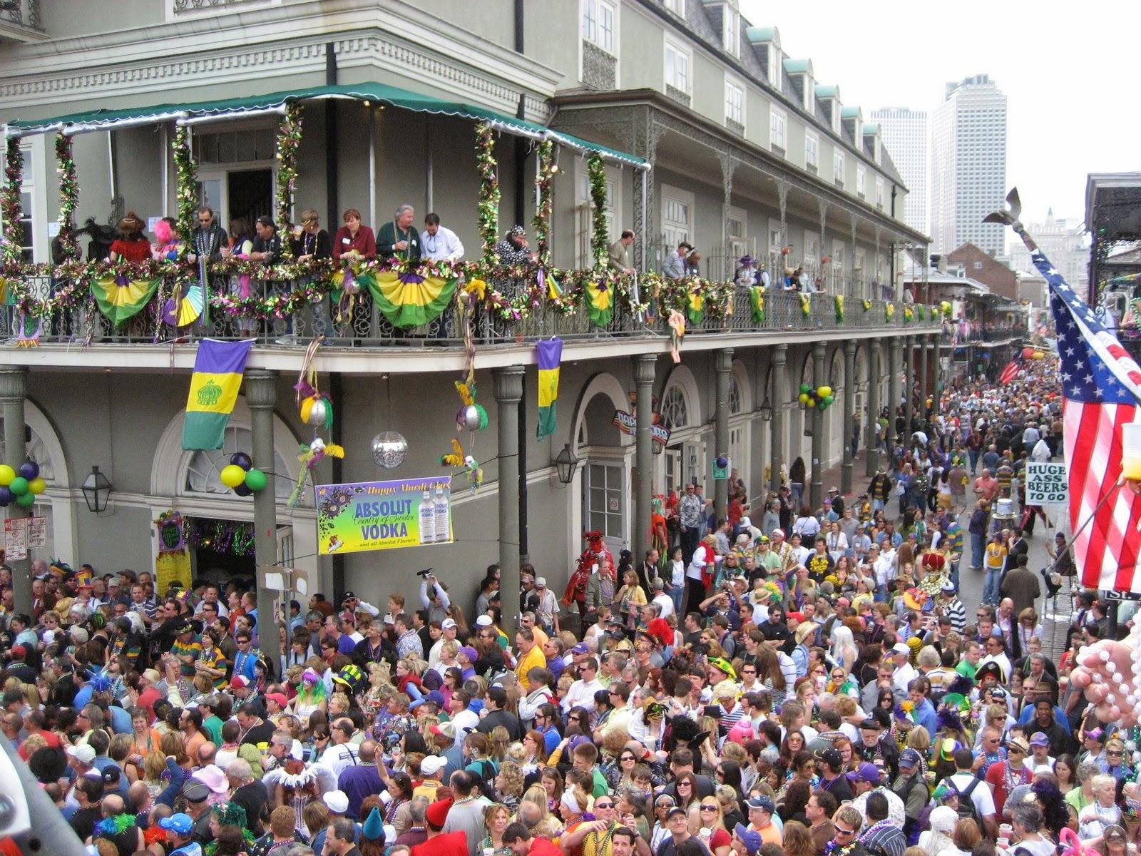 De otros mundos: Mardi Gras / El carnaval de New Orleans