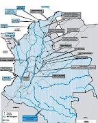 Imágenes recientes de los mapas actualizados de Colombia con las principales . (mapa vial hidrigrafico de colombia)