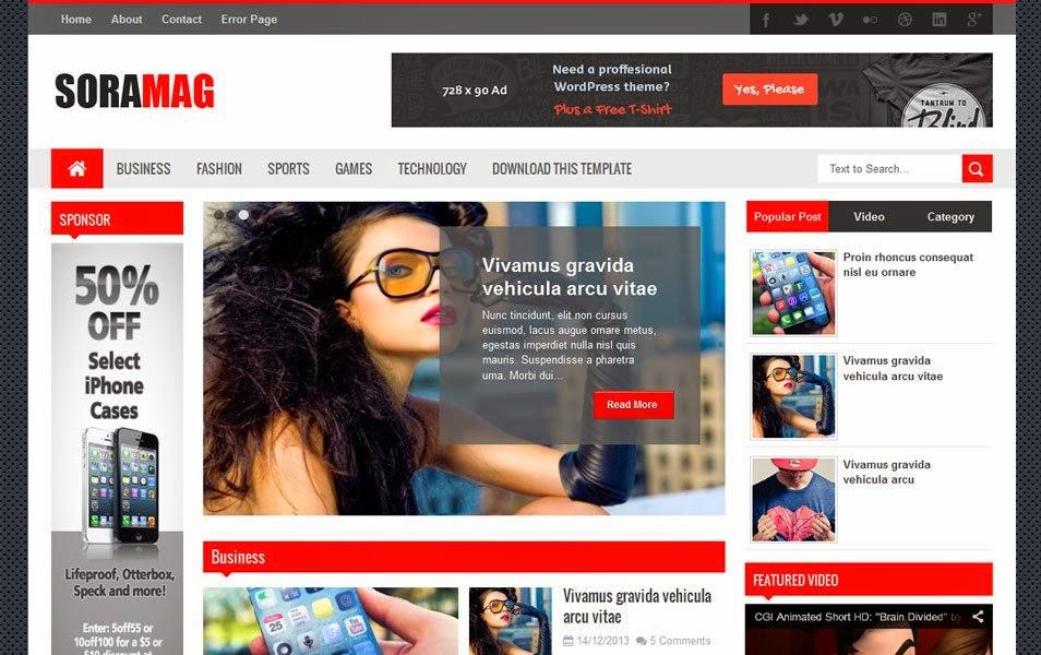 Top 30 Best Blogger Templates - Teen-Tech-Travel