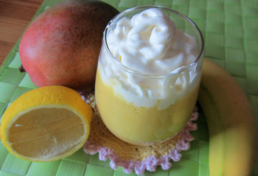 banan smoothie med mjölk