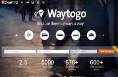 Buscar rutas de viajes en todo el mundo: Cleartrip WayToGo