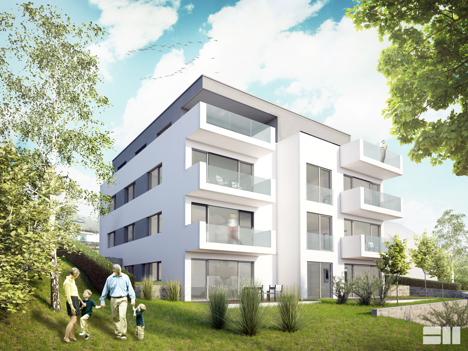 Hirschberg housing project for realisation germany 2015 helwig haus raum planungs gmbh http www helwig architekten de