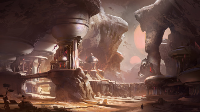 First Halo 5 Concept Art