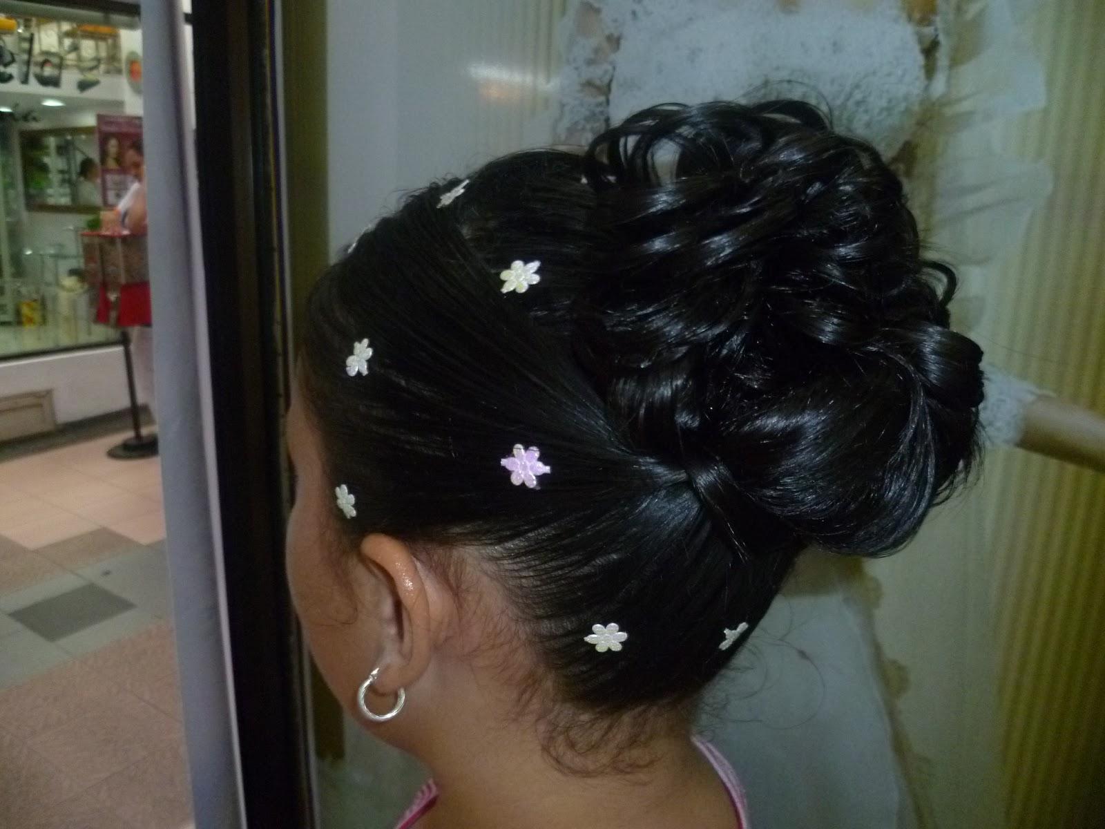 Peinados de novia y quinceaneras