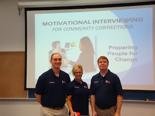 Members of MINT that presented the training were (l to r)Mark Asteris, Susan Orendac and Greg Sumpter.