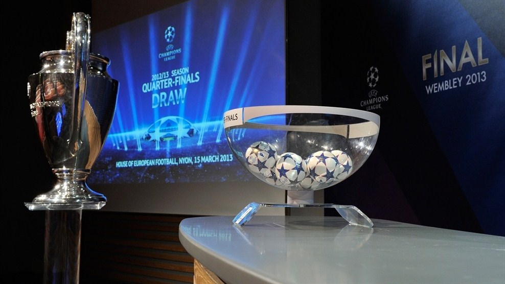 Acontecer Futbolistico: Sorteo Cuartos de Final UEFA CHAMPIONS ...