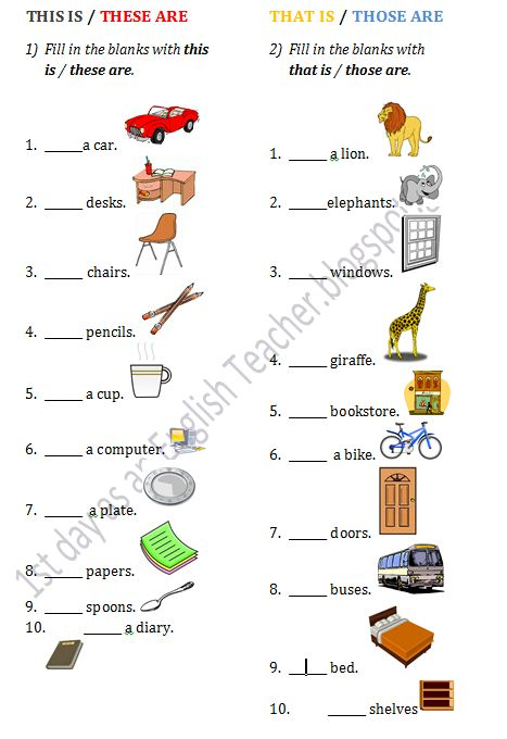 1st-day-as-an-English-Teacher: Worksheets for A Class