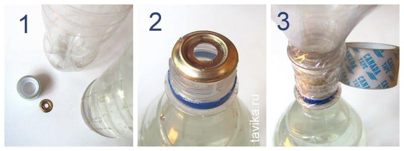 опыт по физике для детей - смерч в бутылке