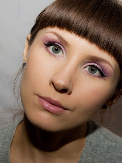 Purple Spring Makeup Look