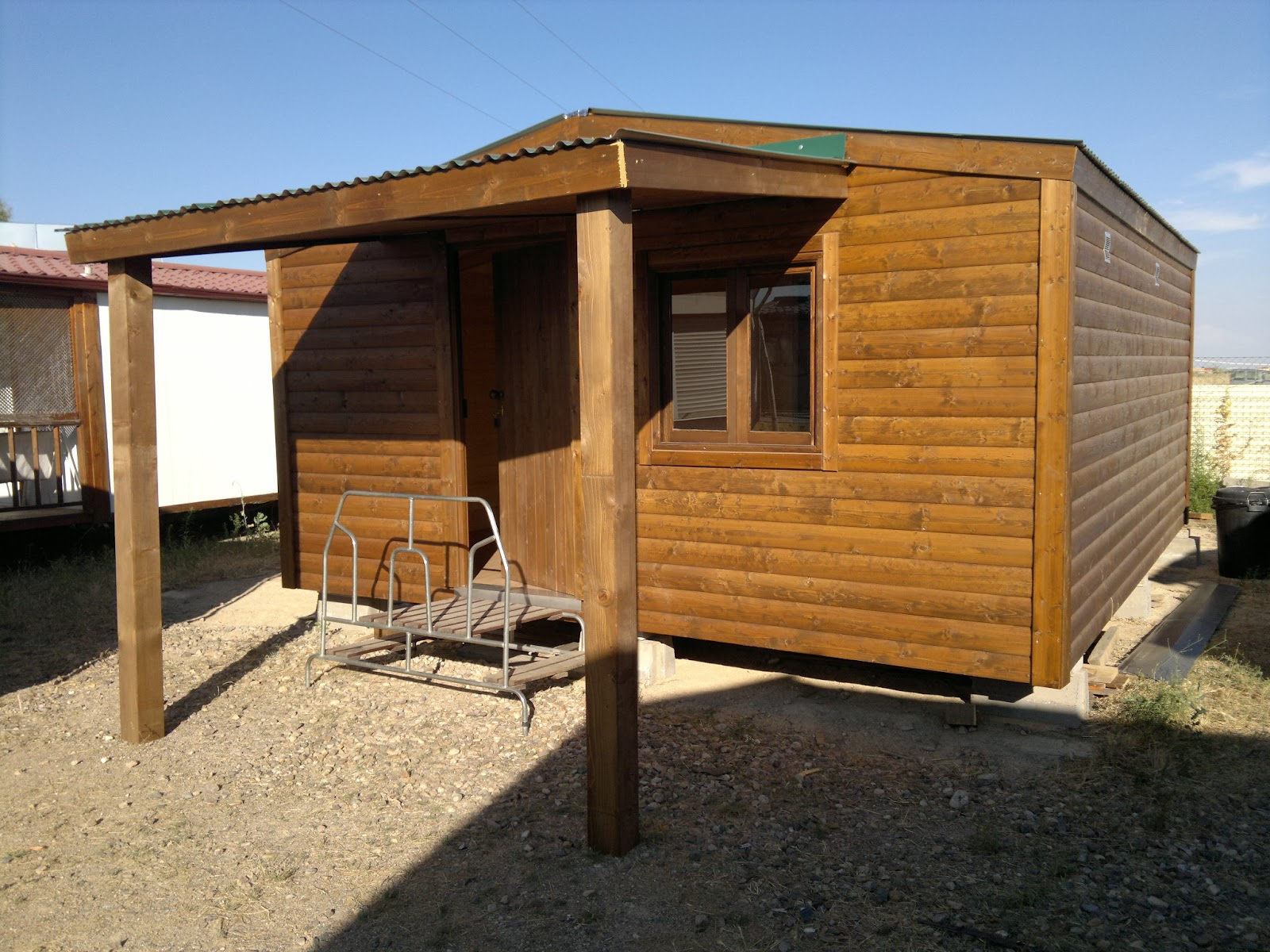 Casas prefabricadas madera segunda mano casas de madera for Casas de jardin de segunda mano