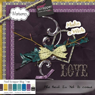 "Happy New Year ...kit ""Best is yet to come"" + Pixel Scrapper Blog Train Freebie !!!"