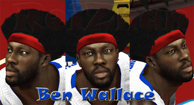 NBA 2K13 Ben Wallace Cyberface Mod