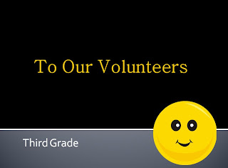 Fern Smith's FREE Volunteer Thank You PowerPoint!