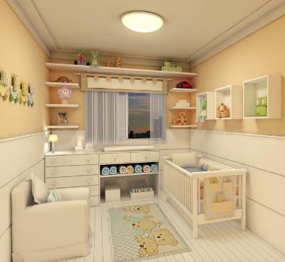 quarto de bebê unissex beji, quarto de bebê unissex tem ursinho