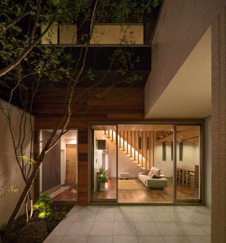 M-4 House designed by Masahiko Sato of Architect Show Co
