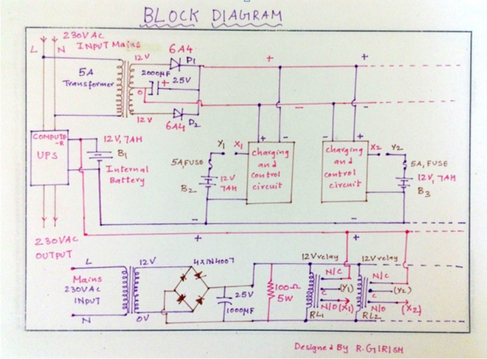Ups Circuit Diagram 600Va blueraritaninfo