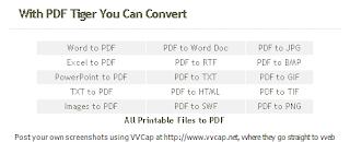 PDF Tiger v1 Feature