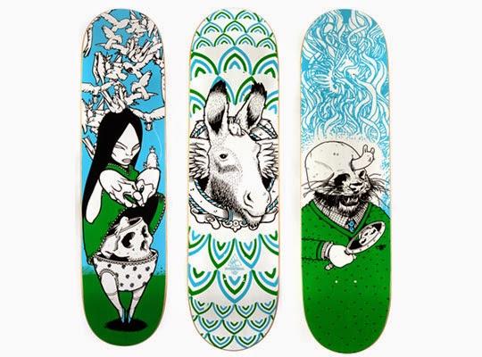Skater Deck art