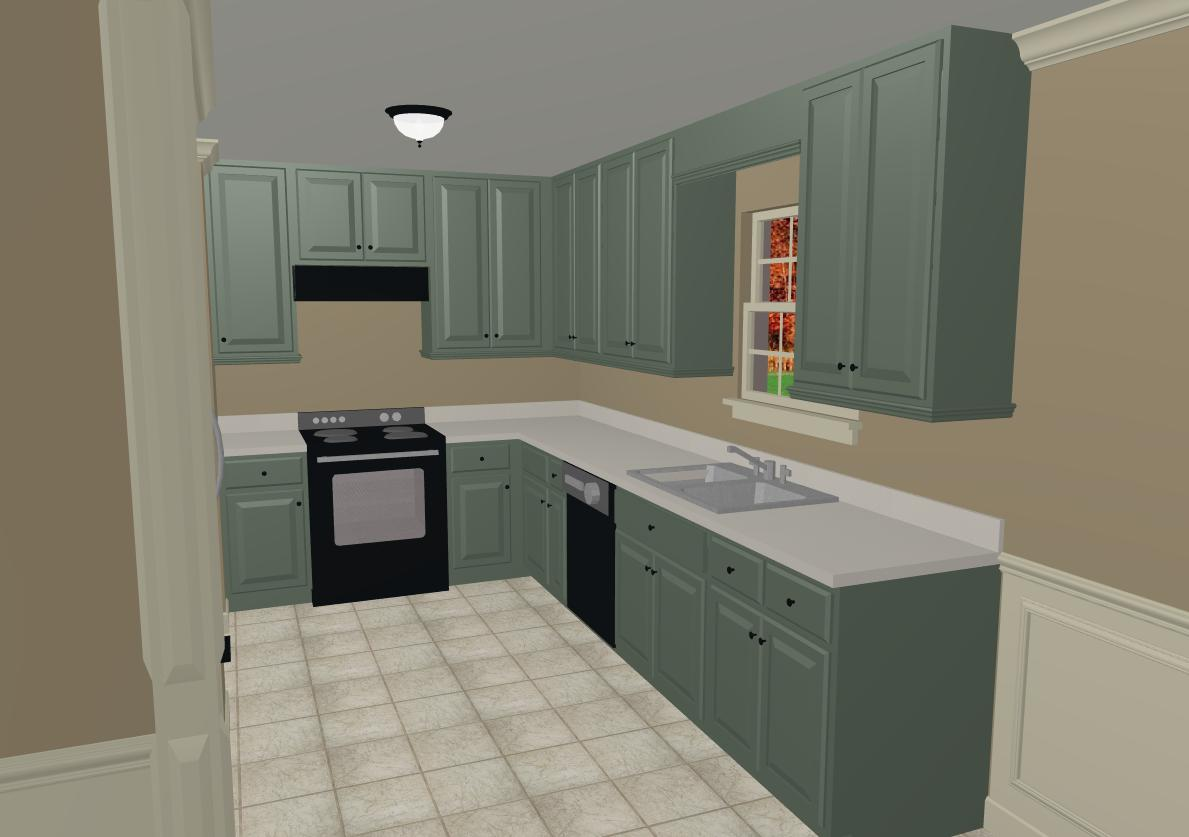 Kitchen trends what color to paint kitchen cabinets for Kitchen cabinet paint schemes