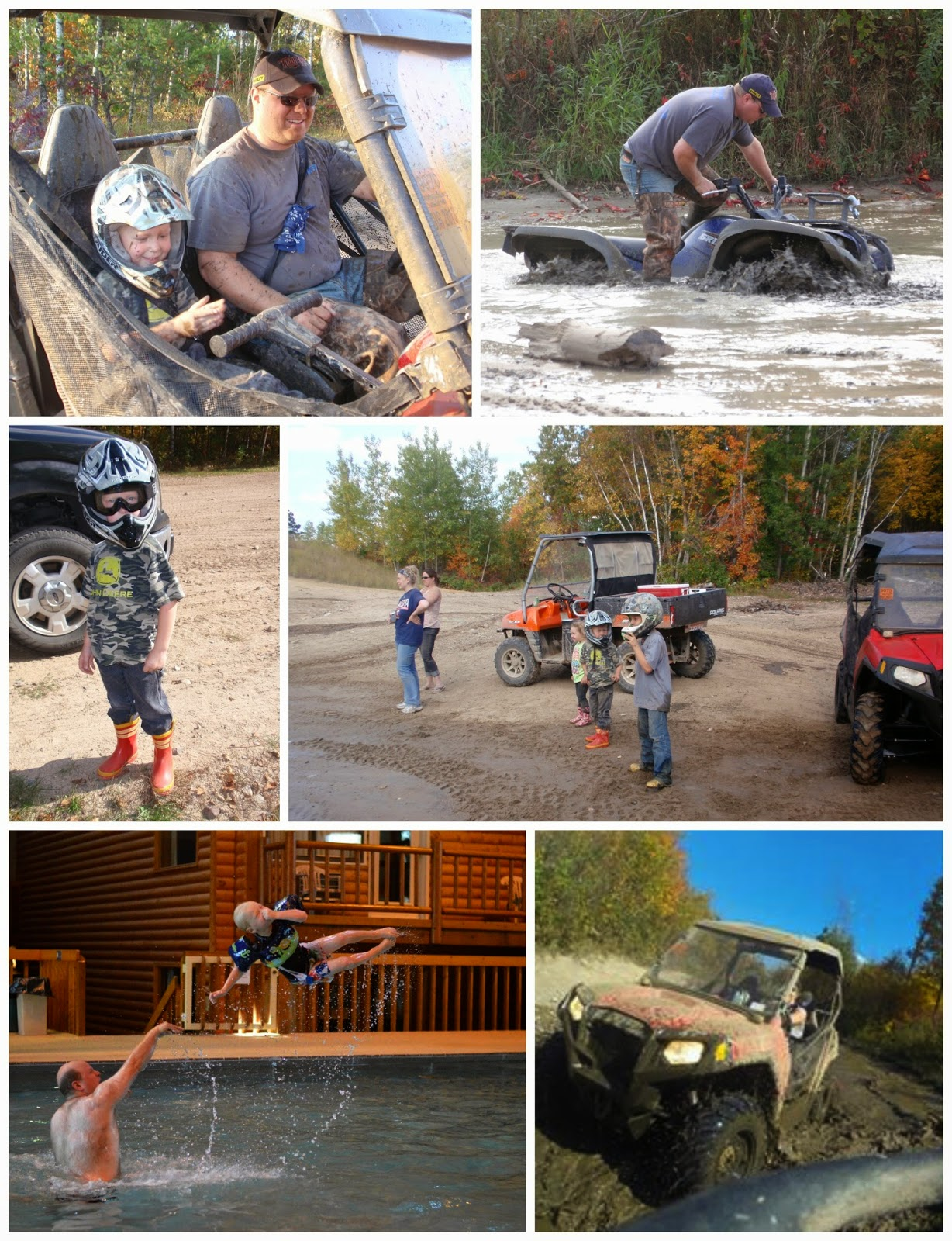 family fall atv trip