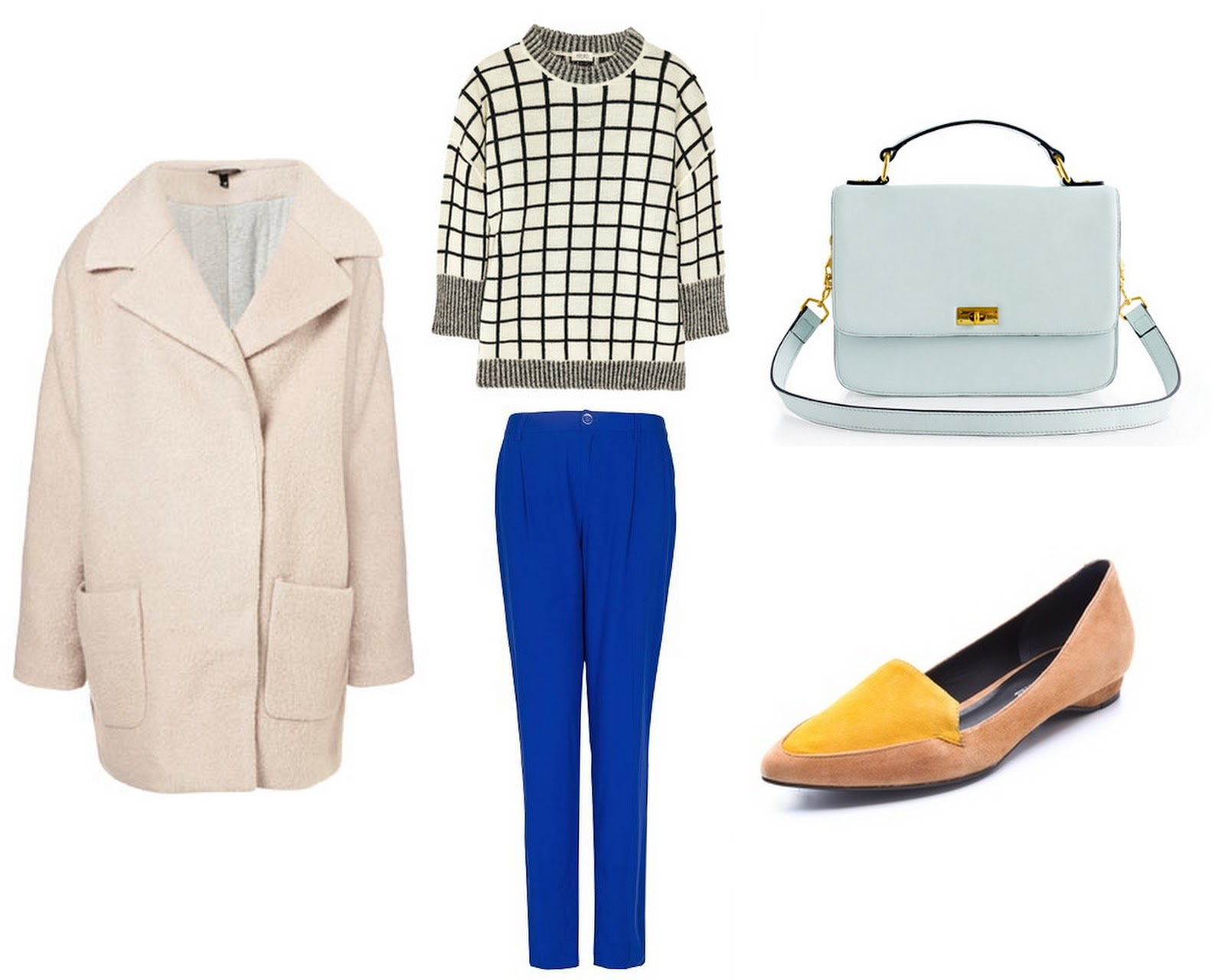 Heart of Gold: Interior to Outfit: Blue Accents