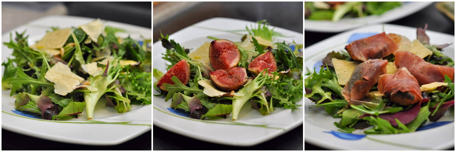Roasted Figs Salad with (or without) Parma Ham | Jyotsna's ...