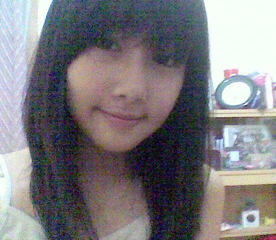 Dhike JK48 saat rambutnya panjang