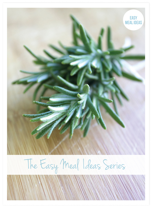 THE EASY MEAL IDEAS SERIES - cover