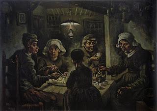 Os Comedores de Batata (quadro do pós-impressionismo)