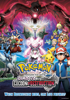Pokémon 17: Diancie and the Cocoon of Destruction (2014) Online