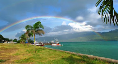 Pelangi Sehabis Hujan - Larantuka - Flores Timur