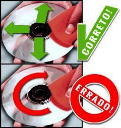 Limpar DVD \ CD \ Blu-ray