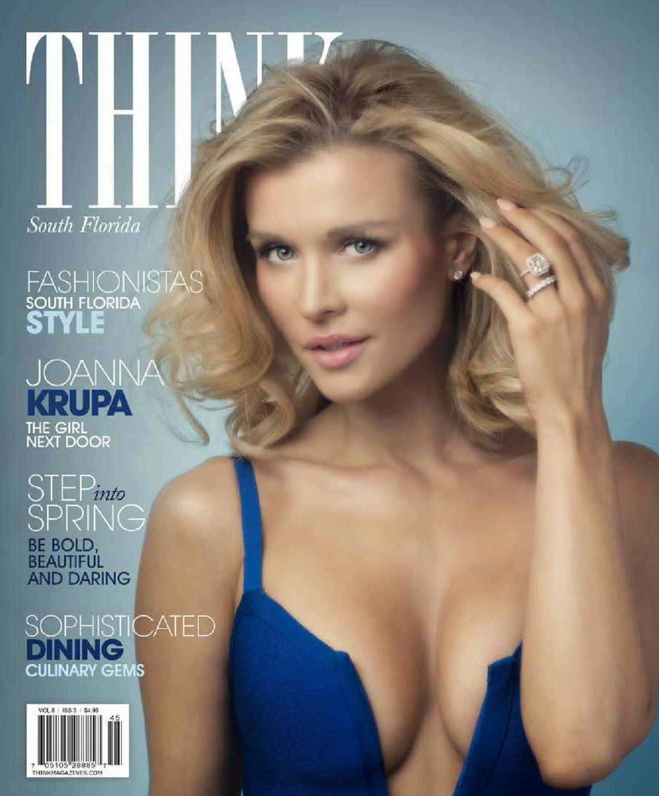 Actress, Model @ Joanna Krupa - Think Magazine March 2015