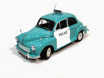 Morris Minor 1000 Police Car UK '63 - Minichamps