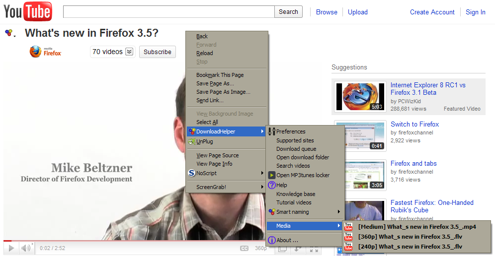 is video downloadhelper safe