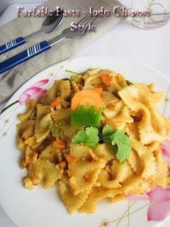 Healthy Farfalle-pasta