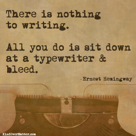 First Quote Hemingway