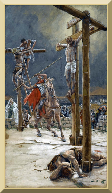 """The Strike of the Lance"" -- by James Tissot"