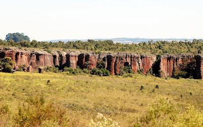 Parque Estadual de Vila Velha - Ponta Grossa - PR